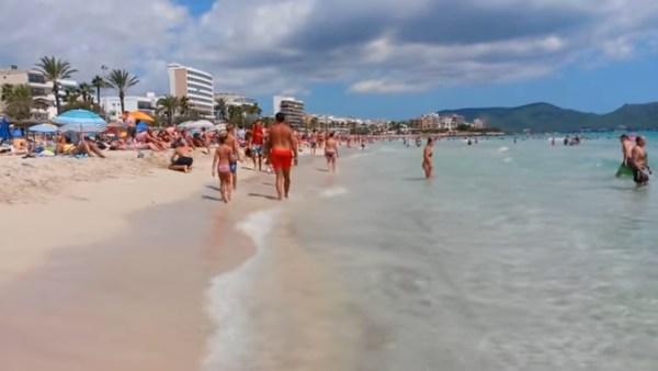 Cala Millor beach, Mallorca
