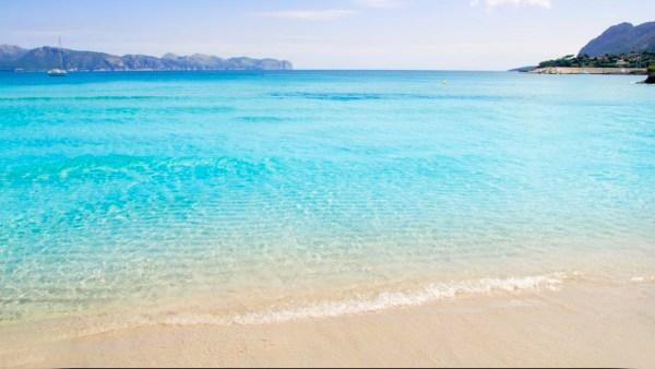 Playa de Alcudia beach, Mallorca