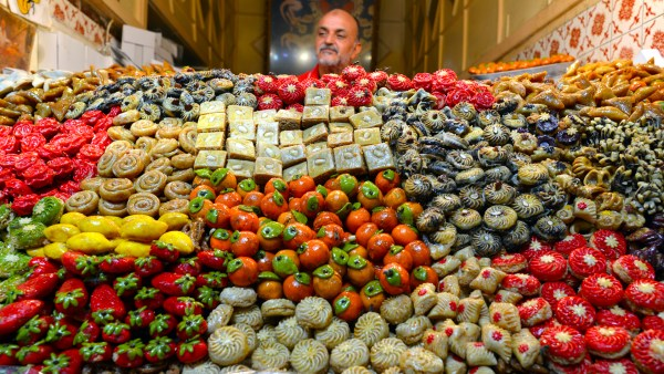 Sweets of madina, Morocco