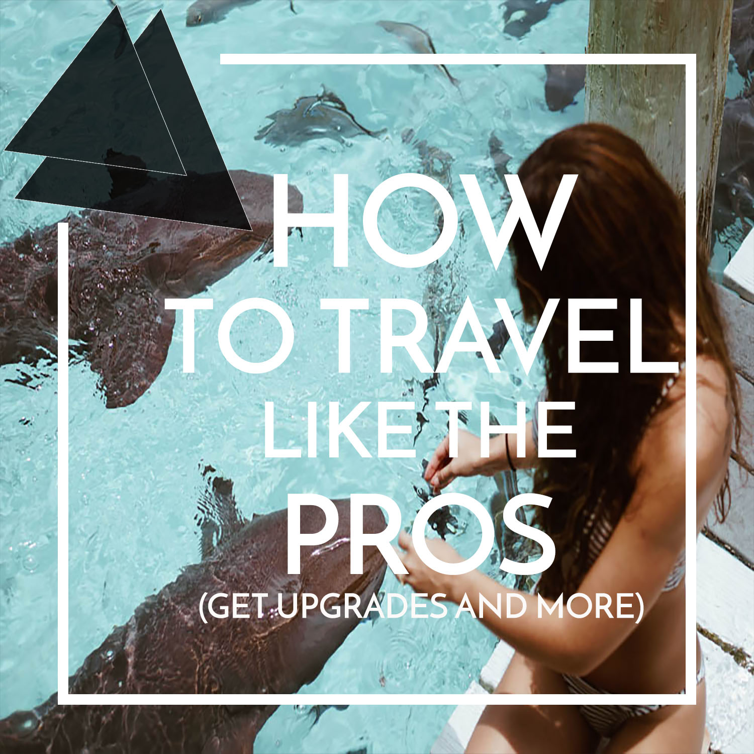 Secrets on how to travel like the pros and get upgrades and more