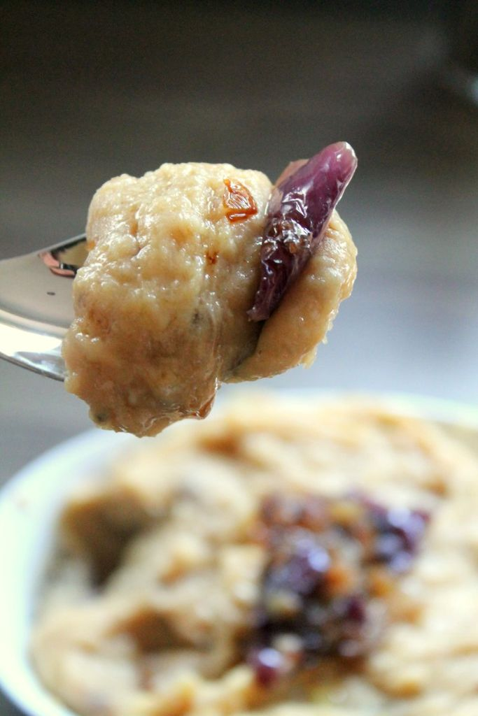 sticky gruyere and caramelized onion mashed potaoes
