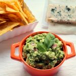 Basil & blue cheese guacamole