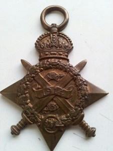 Rifleman Robert Arthurs' Bronze Star