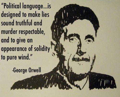 Orwell Political Language