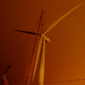 Suffolk's first wind turbine