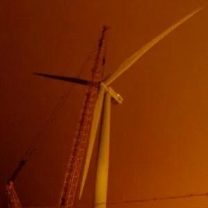 Suffolk's first wind turbine