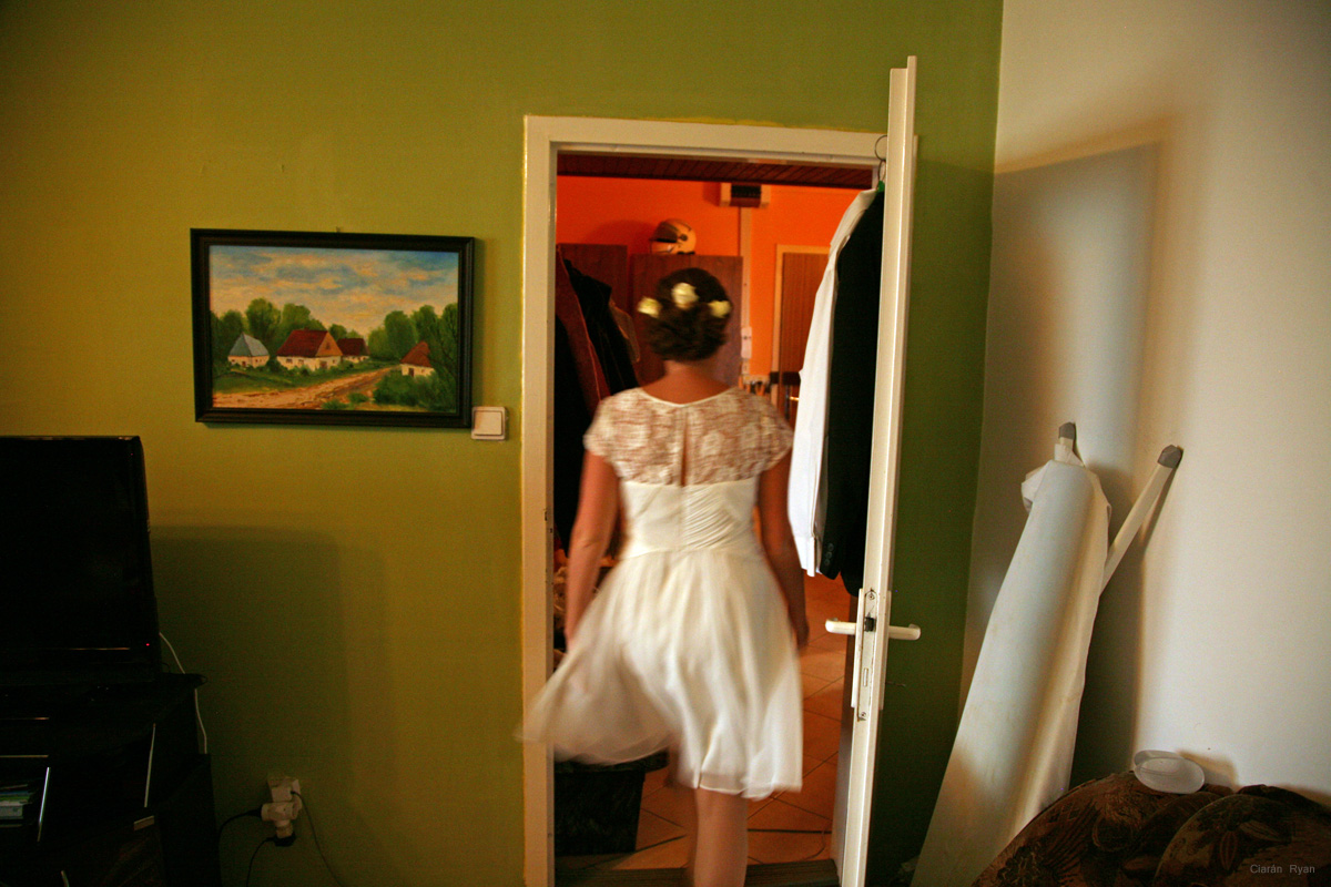 Wedding preparations, Slovakia
