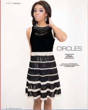 Herlife Magazine Spread, Jill Richardson - 2013