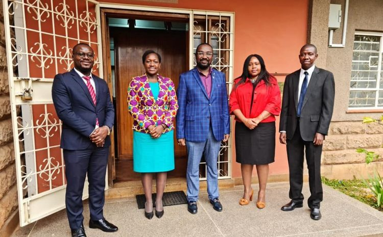 Institute of Certified Secretaries pays CIArb a courtesy call