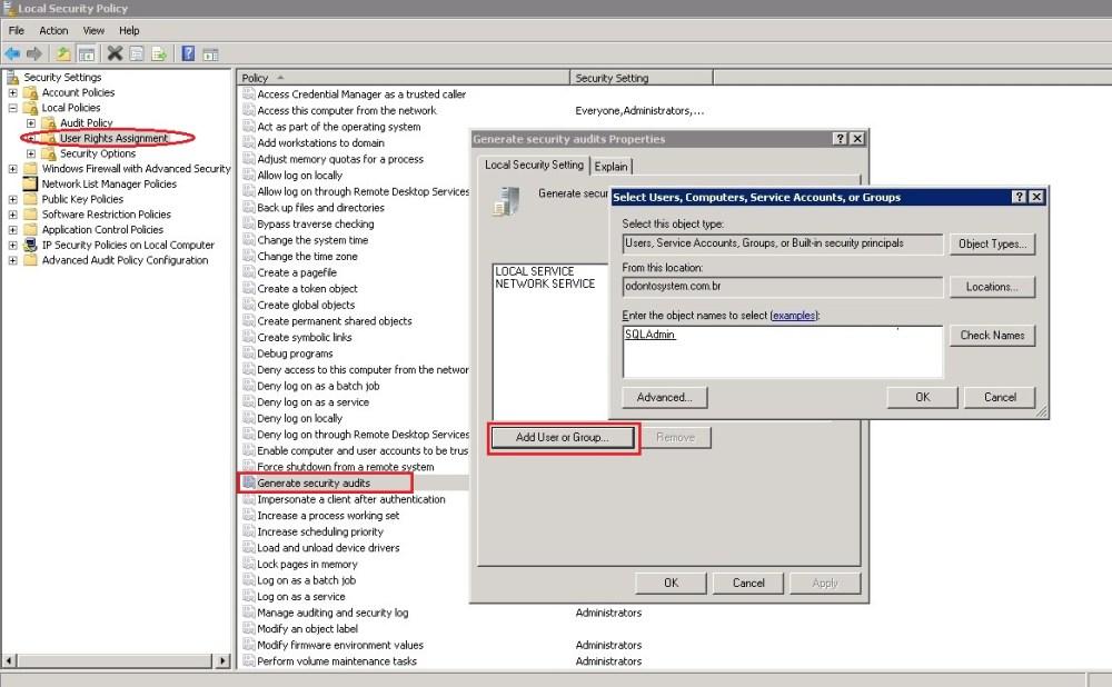 DESCOBRINDO AUDITORIA NO SQL SERVER 2008 – PARTE 5 (4/5)