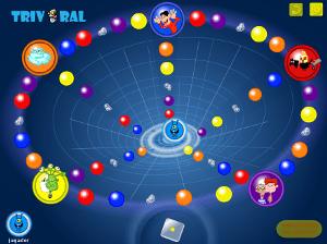 Imagen del juego Triviral ofrecido por INTECO y PantallasAmigas