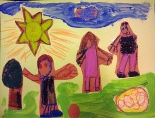 3º Prémio-Ilustração Pré-escola-Joana Bessa-sala 2- JICristelos