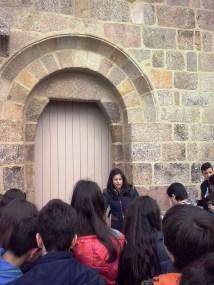 Porta lateral Igreja de Meinedo