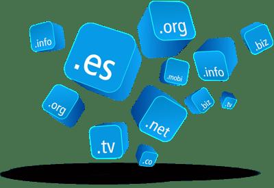Gestión y mantenimiento de dominio y hosting
