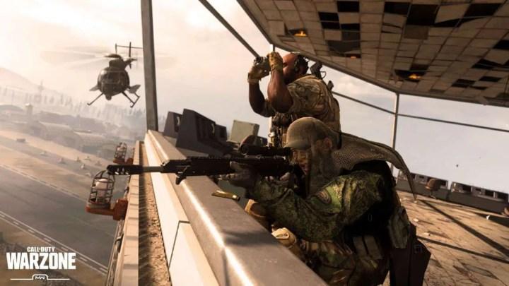 Por que Call Of Duty: o tamanho do arquivo do Warzone é tão grande