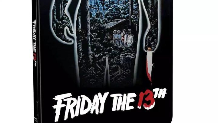 Friday the 13th fica legal Bluray Steelbook e discos de vinil lançamentos
