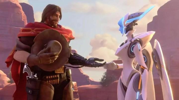 Overwatch está provocando um novo personagem em potencial