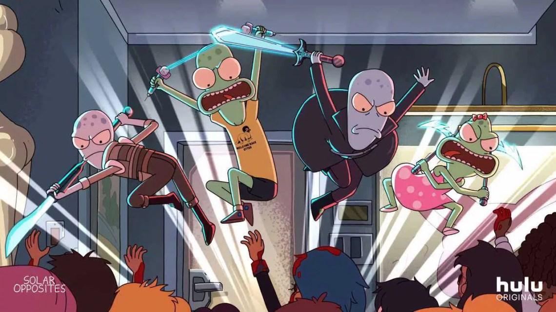 Rick e Morty, o novo programa do co-criador, têm um primeiro trailer, e é cheio de alienígenas e violência