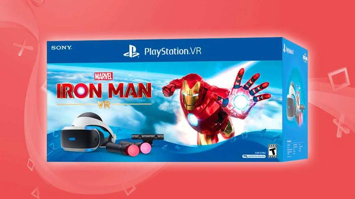 Pacote PSVR do Iron Man vem com tudo o que você precisa para jogar