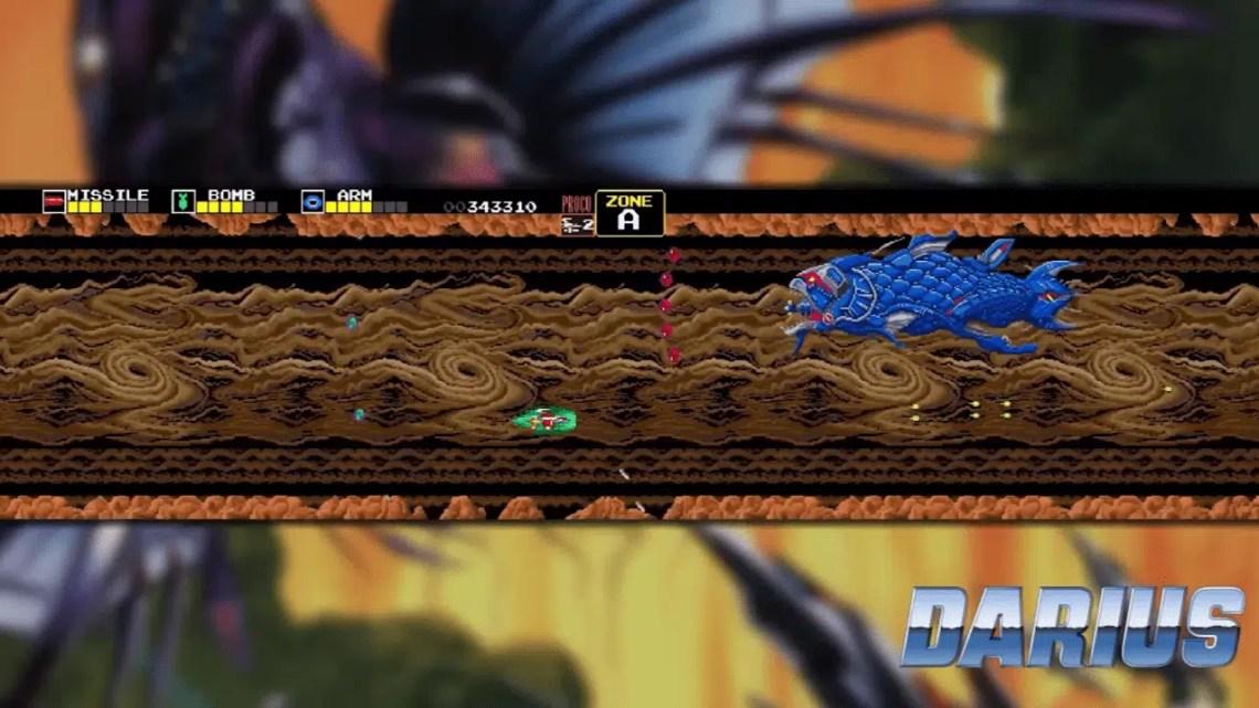 As coleções Darius estão chegando ao Switch e ao PS4, trazendo várias versões de vários clássicos do Arcade