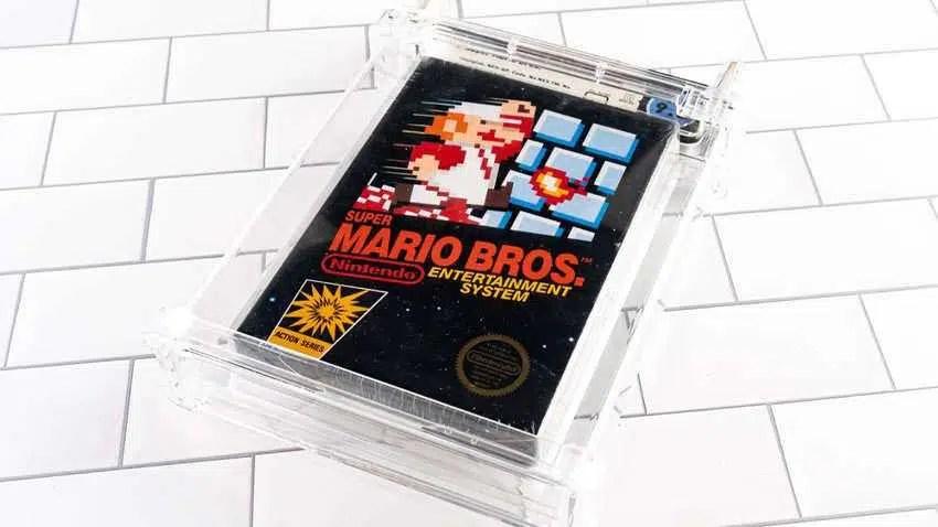 O novo dono do jogo Rare Super Mario Bros. está adotando uma abordagem não convencional