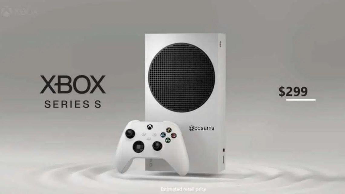 O design do Xbox Series S, o preço do Xbox Series X e a data de lançamento alegadamente vazaram