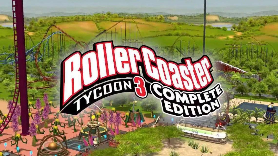 RollerCoaster Tycoon 3: a edição completa é uma atualização de HD e está prestes a mudar