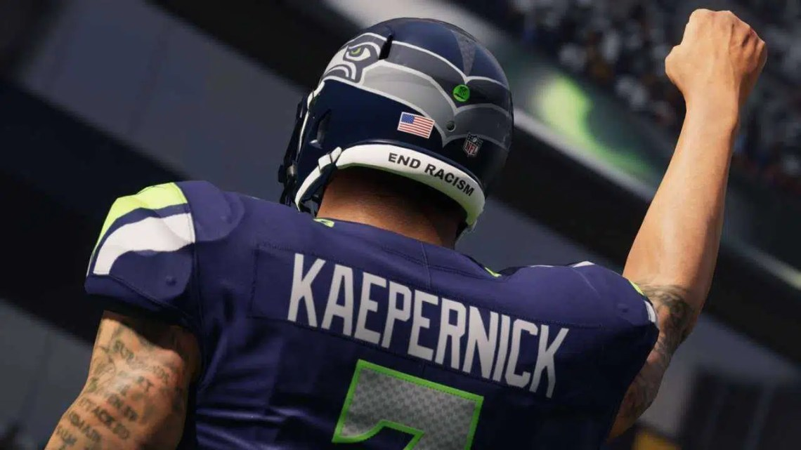Madden 21 está livre para jogar este fim de semana para comemorar o retorno de Kaepernick e o início da temporada da NFL