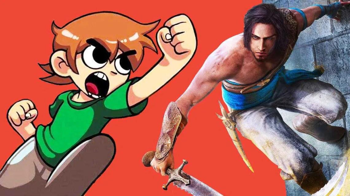 Scott Pilgrim The Game Returns, Prince Of Persia Remake, Immortals Fenyx Rising |  Estado salvo