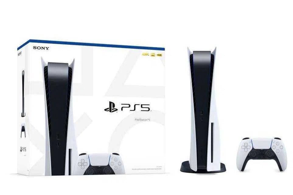 Arte da caixa PS5 revelada para versões em disco e digital