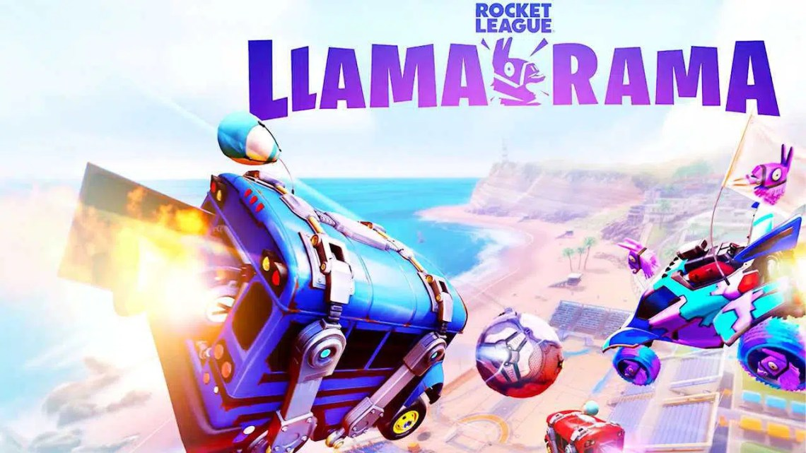Trailer do evento Rocket League Llama-Rama