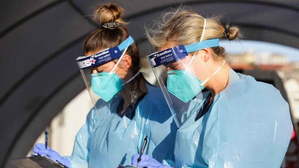 O EPI não se adapta a um número alarmante de profissionais de saúde