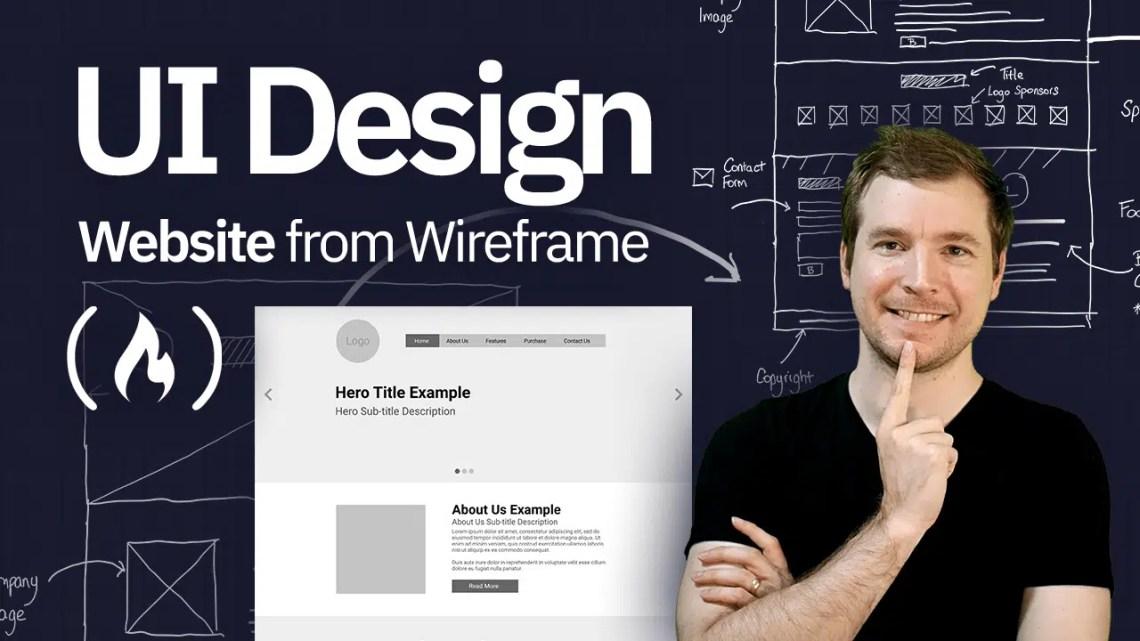 Como projetar um protótipo de site a partir de um wireframe