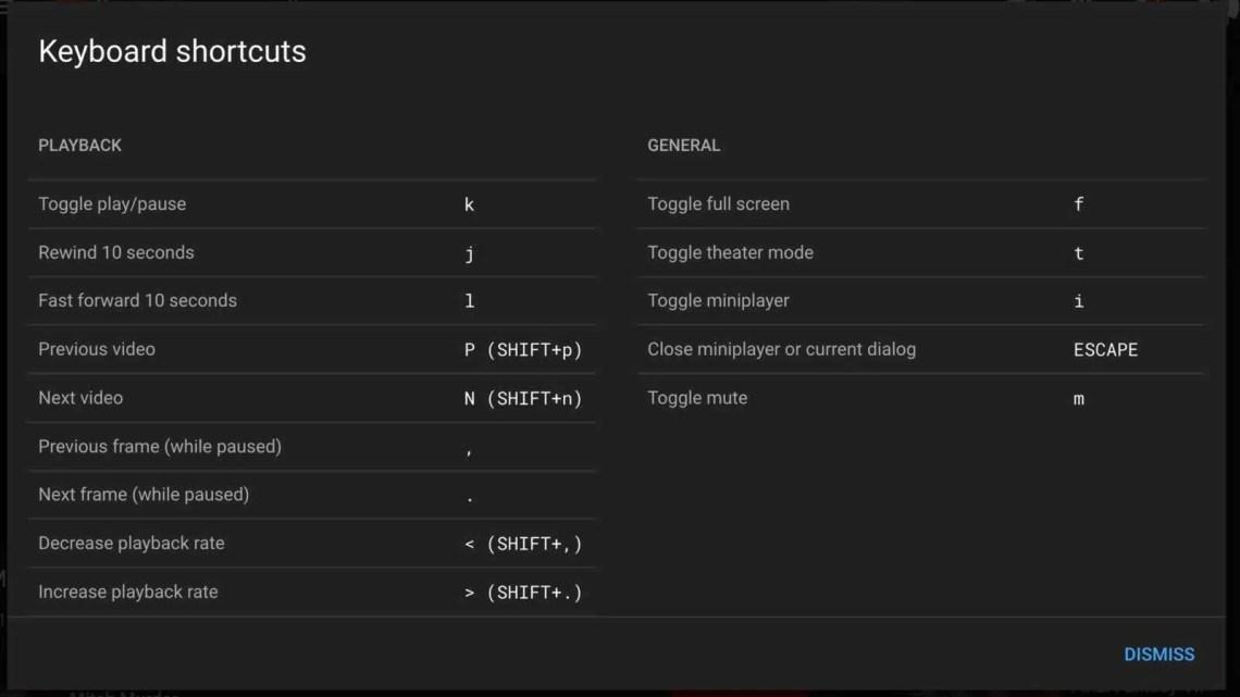 Aprenda os atalhos de teclado do YouTube como um profissional – quadro a quadro, repetição, velocidade de reprodução, legendas e muito mais