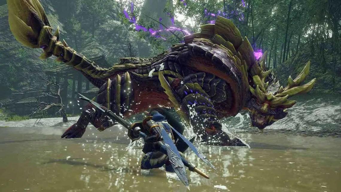 Monster Hunter Rise leva a exploração um passo além do mundo
