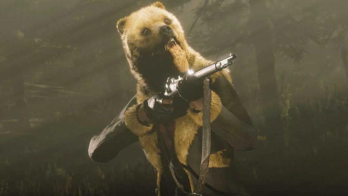 Atualização Online Red Dead desta semana: Golden Spirit Bear