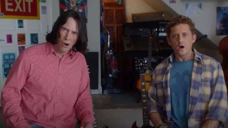 Bill e Ted Face o compositor musical revela que tentaram conseguir Eddie Van Halen para o filme