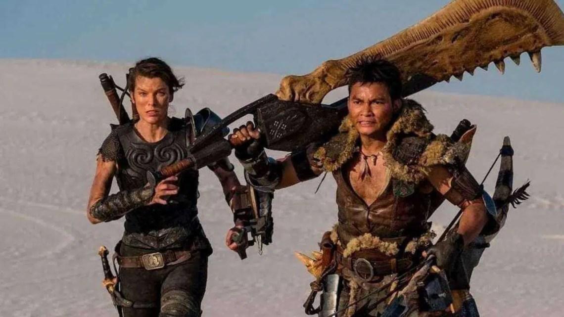 Novo clipe de filme de Monster Hunter mostra Tony Jaa disparando seta explosiva