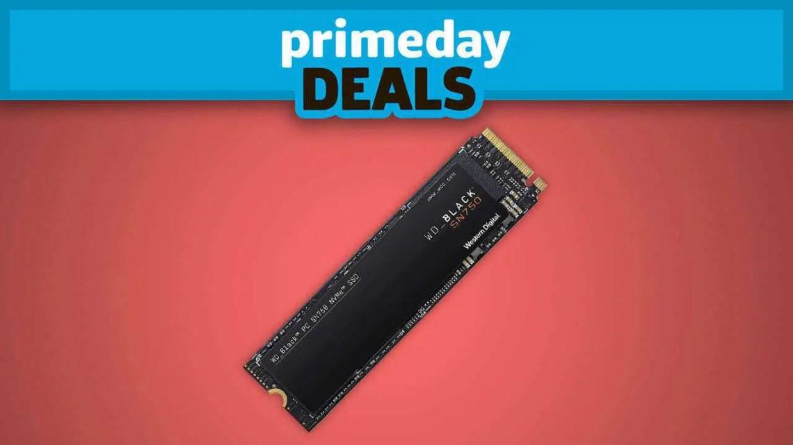 Descontos no Prime Day NVMe M.2 SSD por mais de $ 100 de desconto