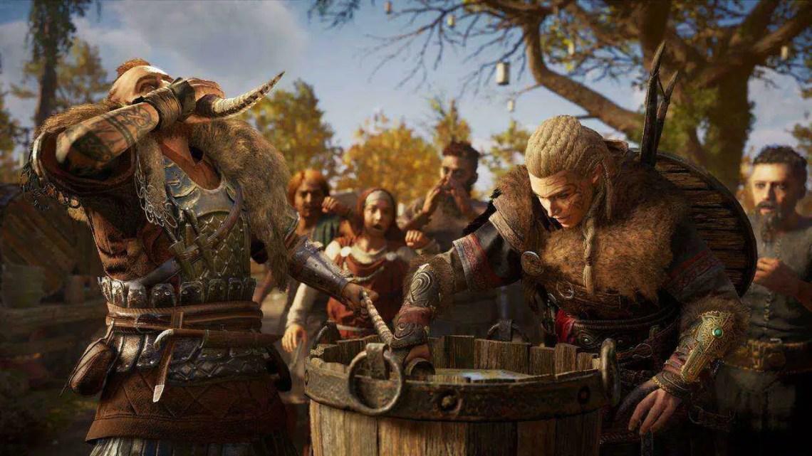 Assassin's Creed Valhalla Ganhou Ouro