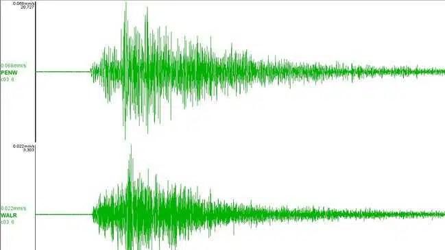 Snowtown registra terremoto de magnitude 3,1