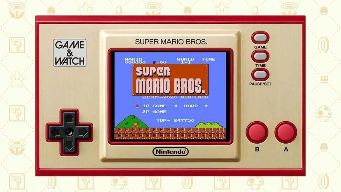 Game & Watch: Super Mario Bros. tem vários recursos ocultos