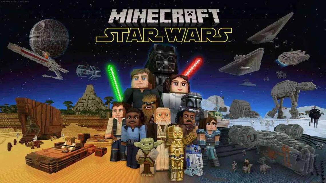 Minecraft Star Wars DLC tem Baby Yoda