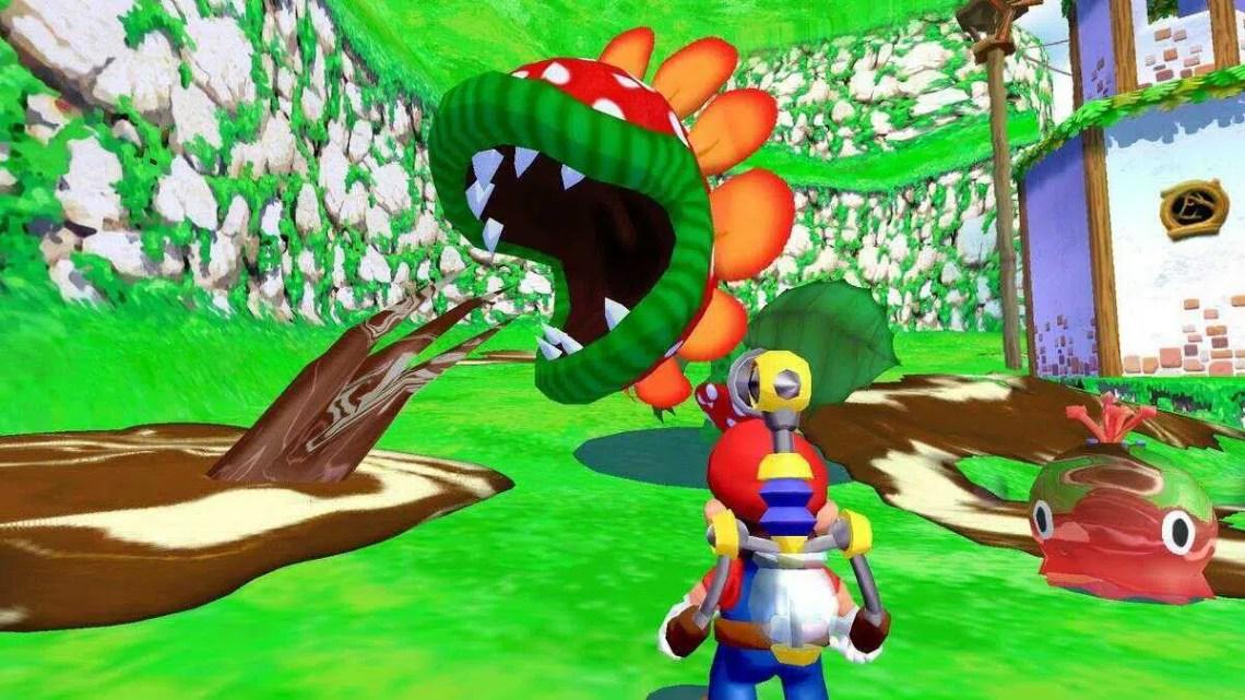 Super Mario Sunshine On Switch agora é compatível com controladores GameCube