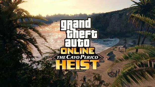 GTA Online Cayo Perico Heist leva você para uma nova ilha em dezembro