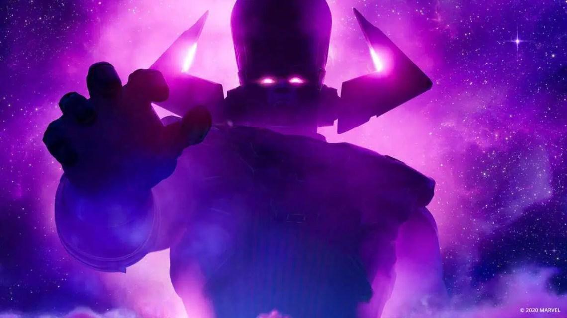 Galactus ameaça a existência de Fortnite no próximo mês