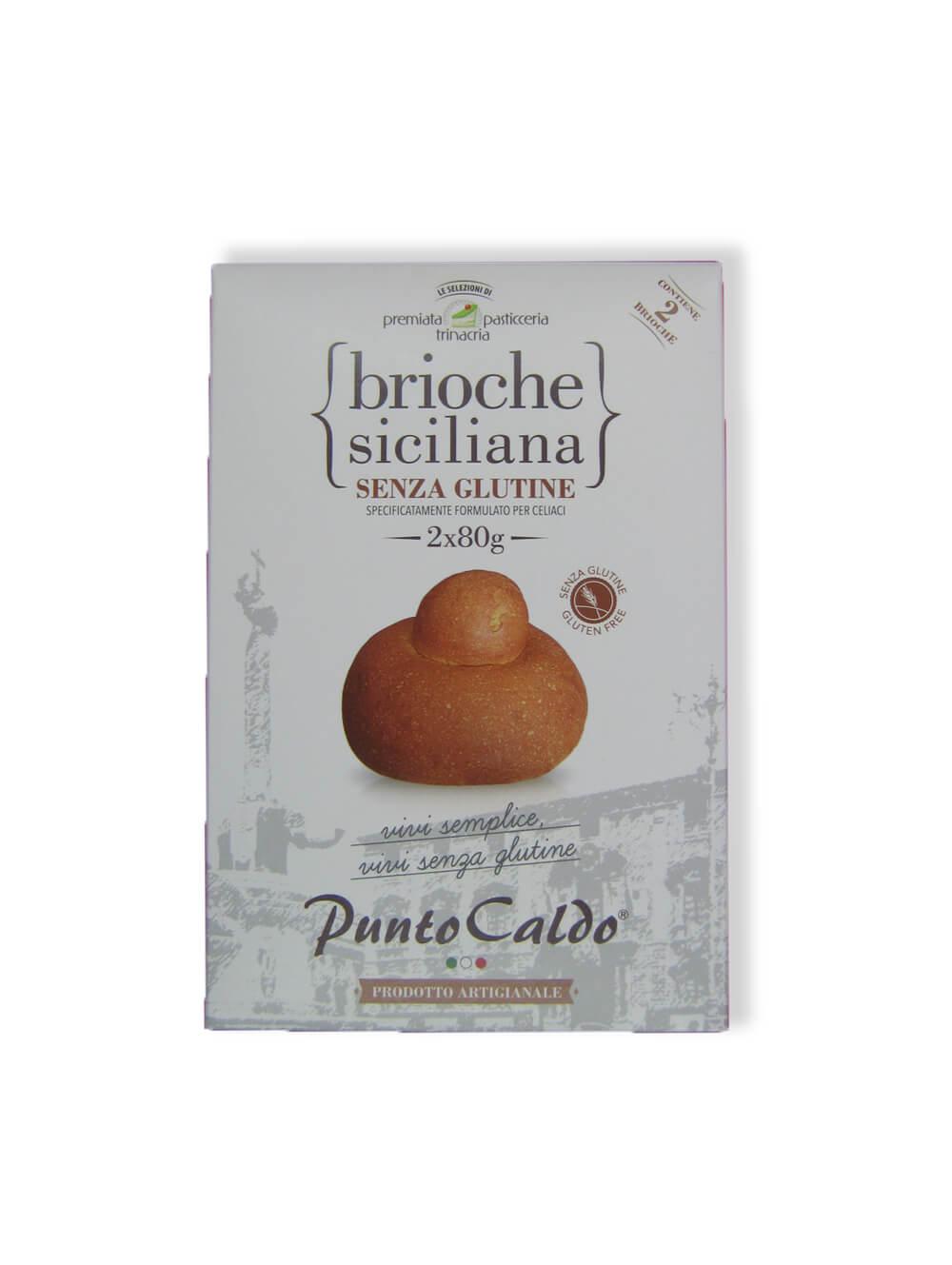 immagine Brioche siciliana Premiata Pasticceria Trinacria