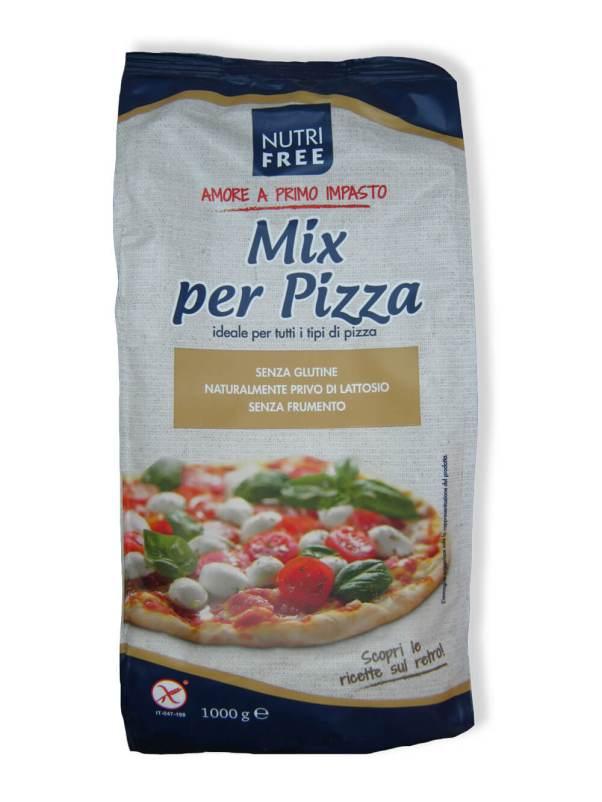 immagine mix per pizza Nutrifree