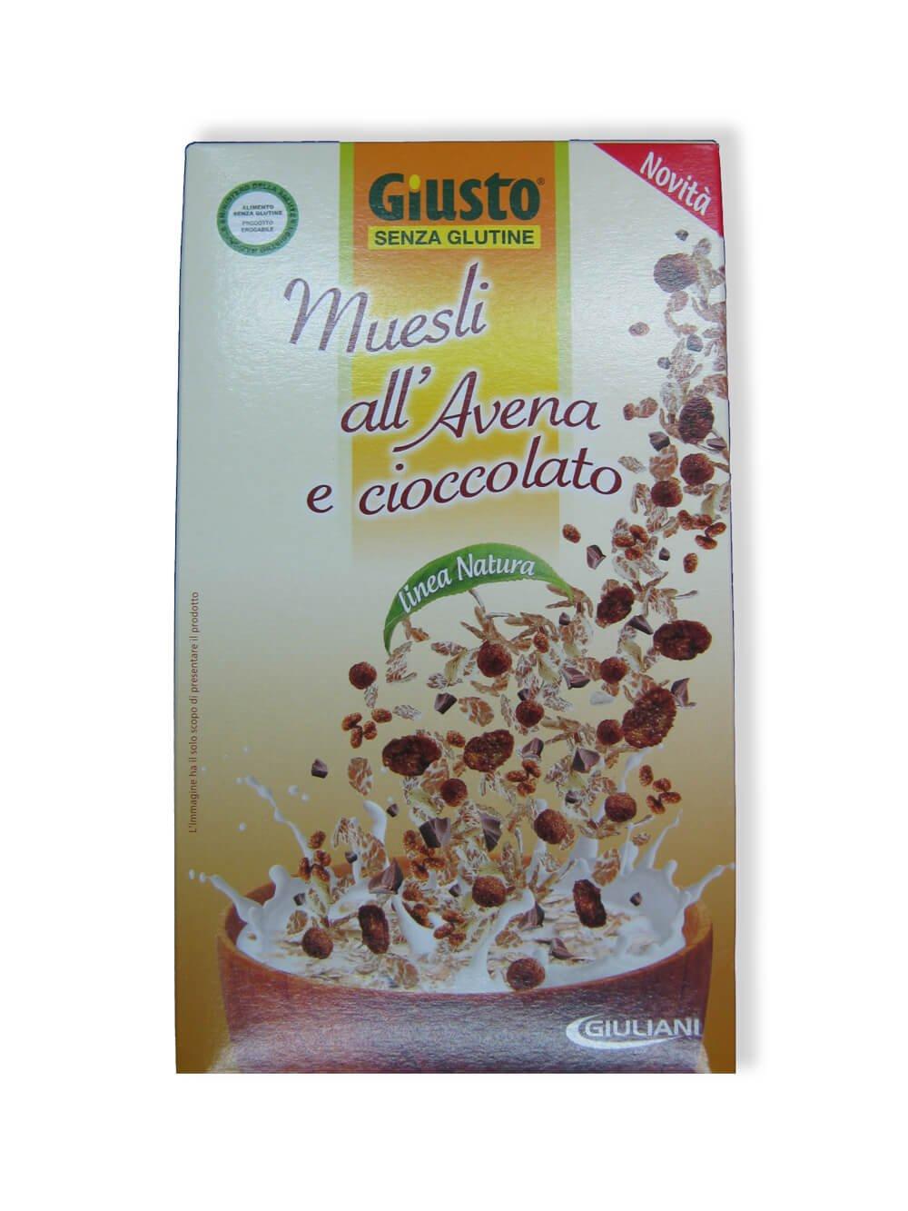 immagine muesli avena e cioccolato Giusto