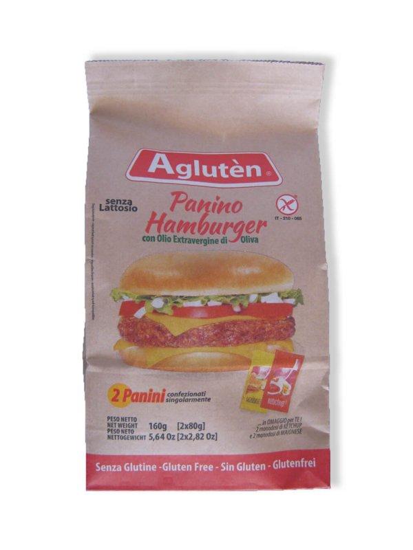 immagine Panino hamburger Aglutèn